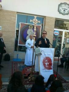 Juan Luis Serrano comenzando el segundo día de Misión